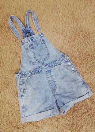 Комбинезон джинсовый размер s