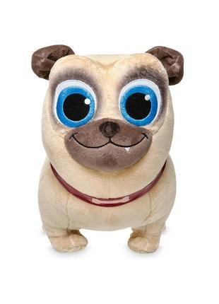 Оригинальная мягкая игрушка мопс ролли