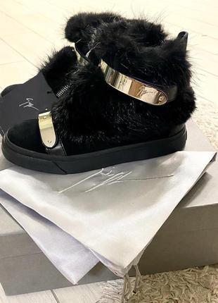 Ботинки кеды giuseppe zanotti оригинал 36р