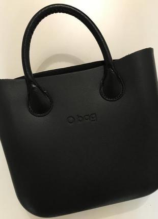 Сумка o bag mini чёрная