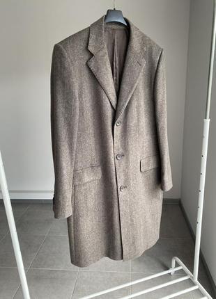 Hugo boss пальто мужское 100% кашемир