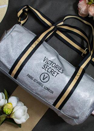Спортивная дорожная сумка, городская victoria secret, виктория секрет, допожня, спортивна, городська