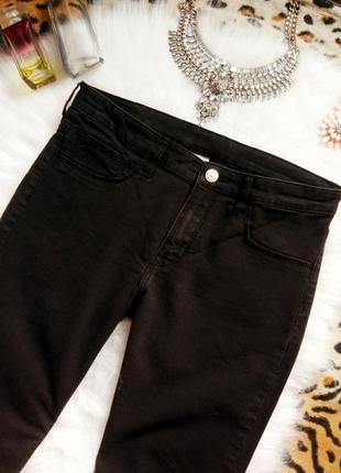 Идеальные черные джинсы скинни узкачи джеггинсы американки