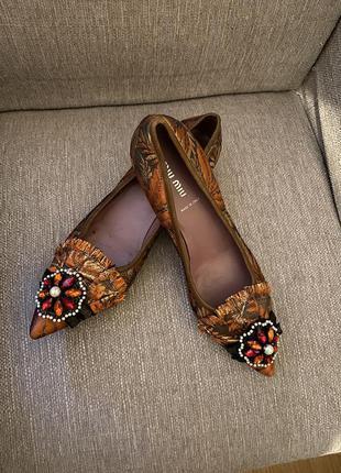 Классные нарядные туфли, miu miu ( prada)!