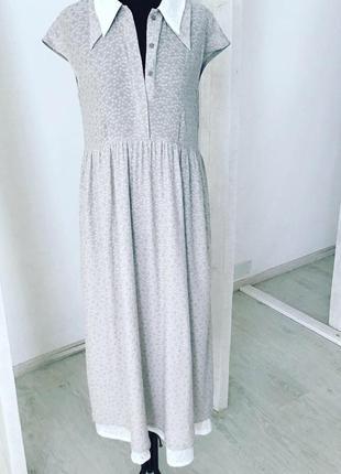 Нежнейшее платье из натуральной итальянской ткани