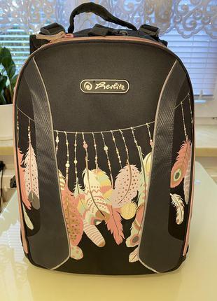 Рюкщак школьный herlitz для девочки