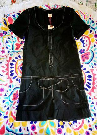 Женский комбинезон ромпер черный с шортами