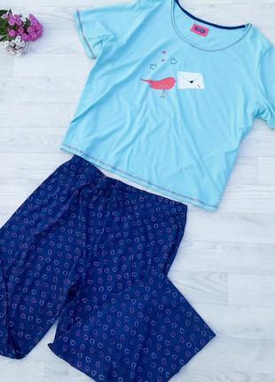 - новая хлопковая пижама sleep р 62 - 64