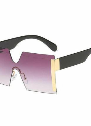 Актуальные квадратные солнцезащитные очки