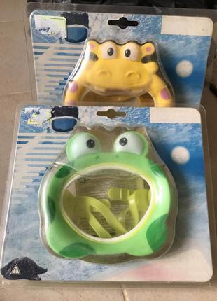 Маска для ныряния очки для плавания fun
