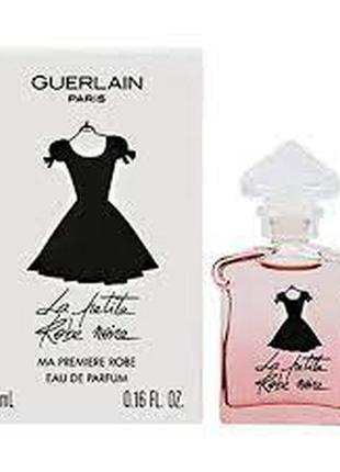 Оригинал женский парфюм guerlain la petite robe noire ma premiere robe, 5 мл, миниатюра