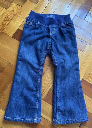 Old navy джинсы с флисом
