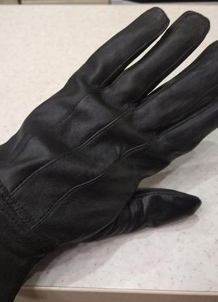 Мягкие кожаные перчатки ,рукавиці,рукавички кожа англия