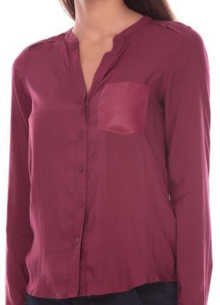 Блуза бордо бургунд