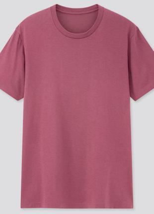 Uniqlo базовая футболка унисекс