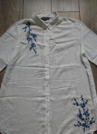 Подовженна сорочка з вишивкою