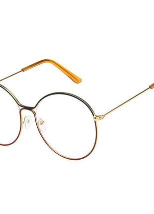 4-68 окуляри для іміджу з прозорою лінзою очки для имиджа с прозрачной линзой