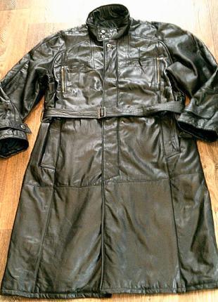 Черный плащ пальто разм .xl (54)