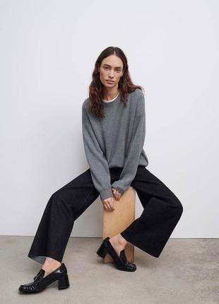 Нереальный свитер от zara новый с бирками коллекция 21 года покупала за 1500 по бирке s можно на m