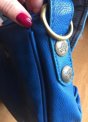 Яркая новая сумка mulberry