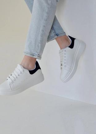 Белые кеды  , белые летние кроссовки на платформе!