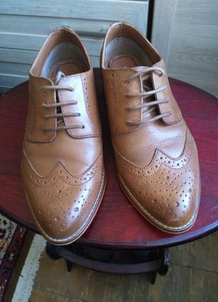 Классные брендовые туфли оксфорды от asos( не секенд)