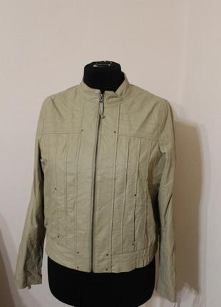 Шкіряна куртка trend one