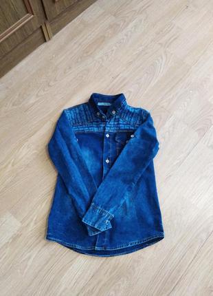 Сорочка під джинс, рубашка под джинс