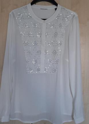 Блуза блузка с паетками