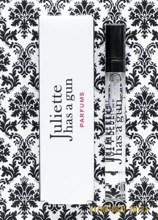 Нишевый парфюм juliette has a gun аромат not a perfume духи 5 мл