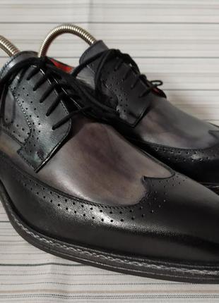 Туфли туфлі броги дерби оксфорды монки лоферы flecs