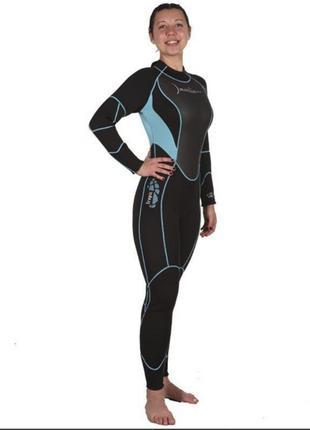 Женский гидрокостюм для дайвинга marlin