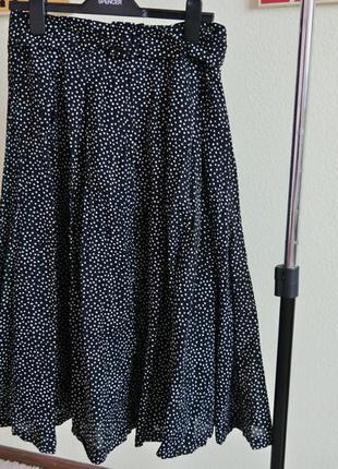Длинная юбка в стиле ретро винтаж