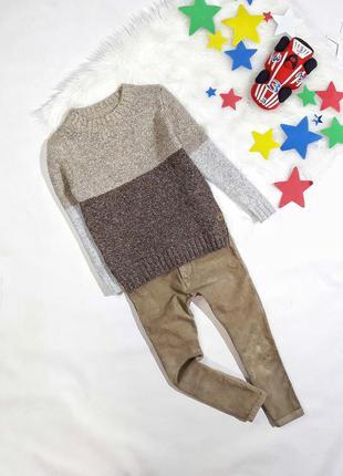 Набор свитер + джинсы на 4-5 лет, состояние идеальное
