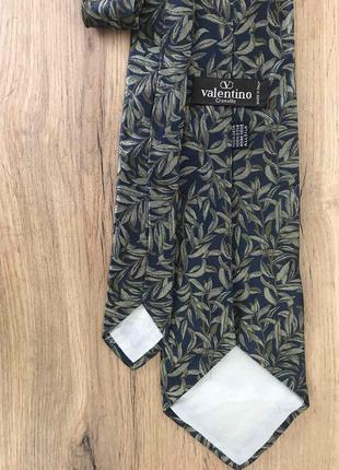 Мужской шелковый галстук valentino валентино