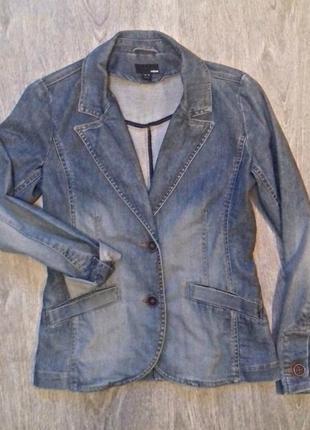 Пиджак джинсовый h&m