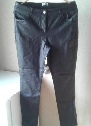 Брюки черного цвета pure fashion, 42 евр..