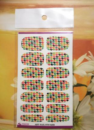 Наклейки для ногтей , слайдер дизайн маникюра