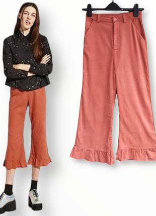 Оригинальные укороченные штаны