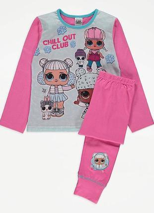 Пижама george на девочку 4-5 и 5-6 лет джордж lol лол кофта штаны