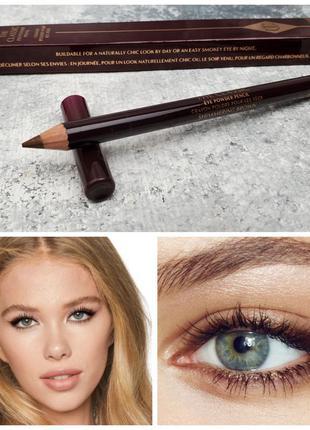 Карандаш для глаз charlotte tilbury the classic eye powder pencil shimmering brown
