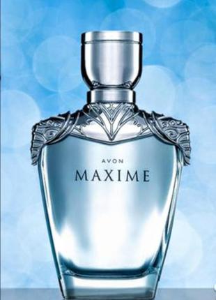 Чоловічий парфюм maxime 75 мл аvon.