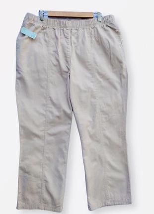 Шикарные коттоновые штаны damart