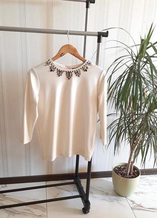 Нарядная кофта блуза