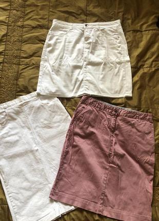 Отличные джинсовые юбки
