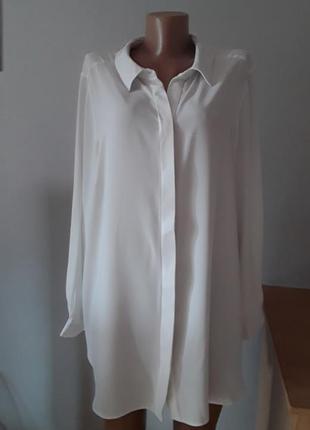 Элегантная блузка /туникабольшого размера