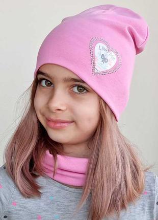Комплект шапка+хомут