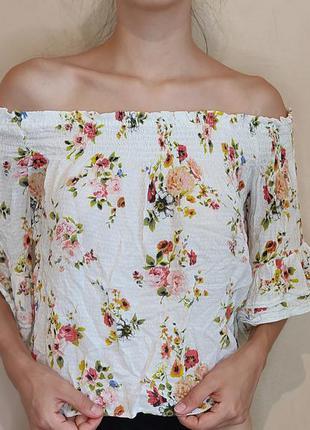 Топ на резинке блузка