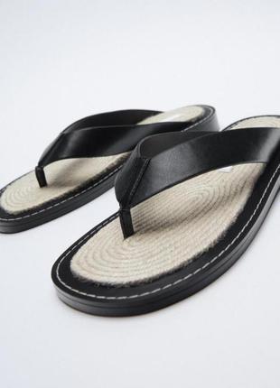 Новые женские сандалии зара оригинал размер 39 искусственная кожа