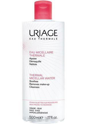 Мицеллярная вода для чувствительной кожи uriage eau micellaire thermale peaux sensibles 500 мл